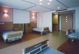 特別養護老人ホームやまさわの里 部屋-四人部屋/談話コーナー